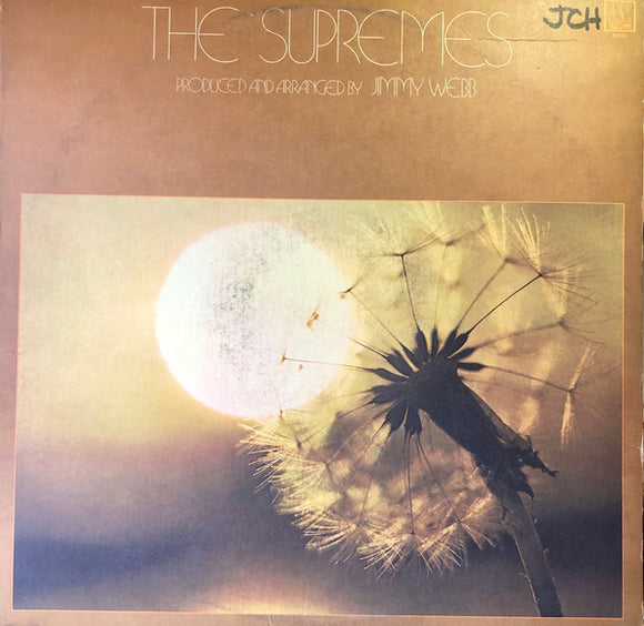 The Supremes - Pro. And Arr. By Jimmy Webb