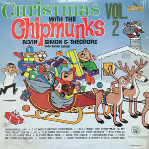 The Chipmunks - Christmas With The Chipmunks Vol. 2