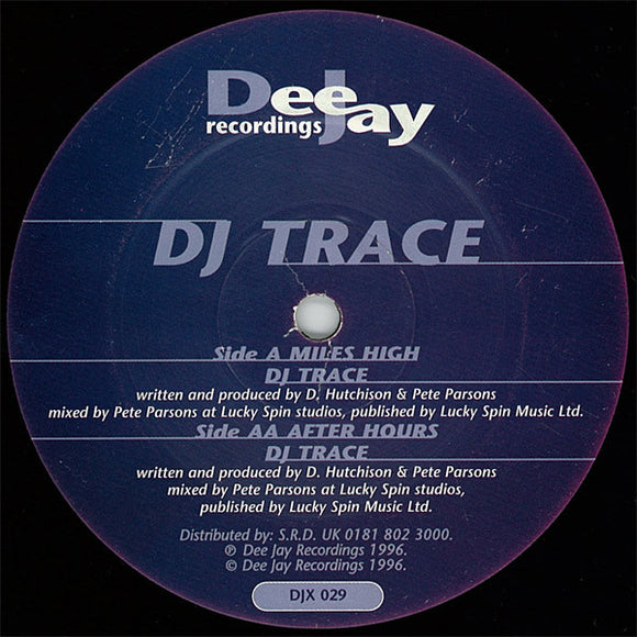 DJ Trace - Miles High / After Hours