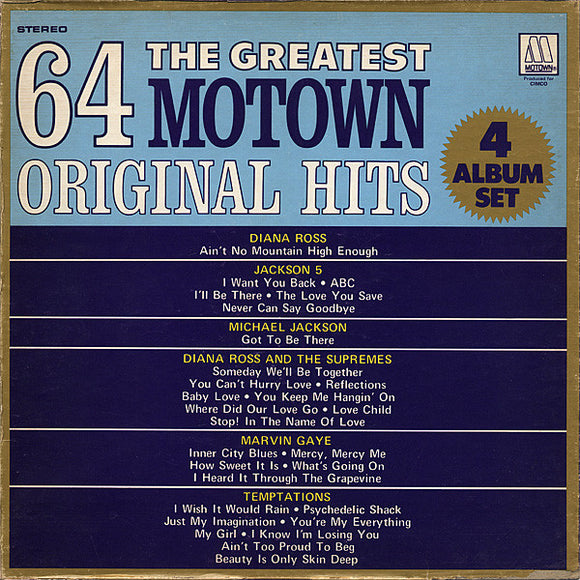 Various - Greatest 64 Motown Original Hits