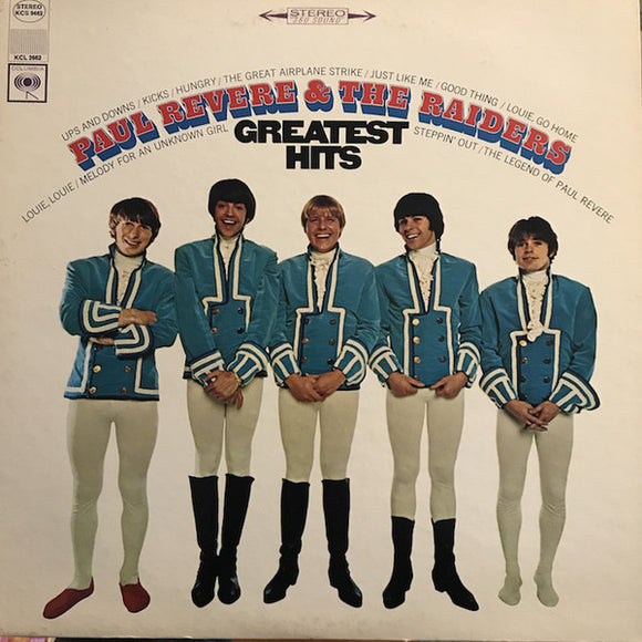 Paul Revere & The Raiders - Paul Revere And The Raiders' Greatest Hits