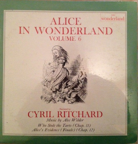 Cyril Ritchard - Alice In Wonderland Volume 6