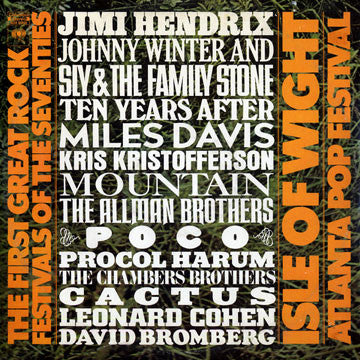 Various - The First Great Rock Festivals Of The Seventies