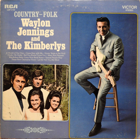 Waylon Jennings & The Kimberlys - Country - Folk