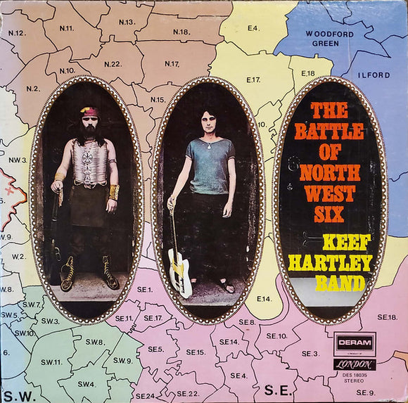 The Keef Hartley Band - The Battle Of North West Six