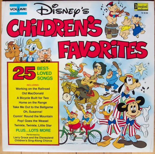 Larry Groce - Disney's Children's Favorites Volume I