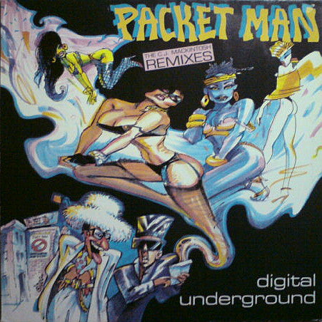 Digital Underground - Packet Man (The C.J. Mackintosh Remixes)