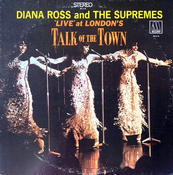 The Supremes - 'Live' At London's Talk Of The Town