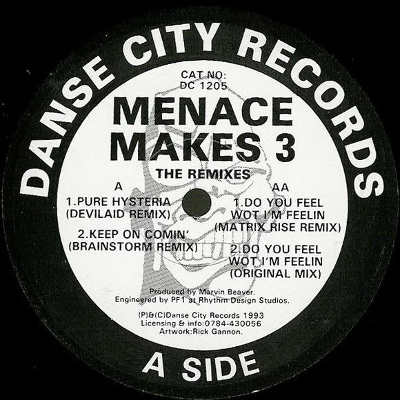 Menace Makes 3 - The Remixes
