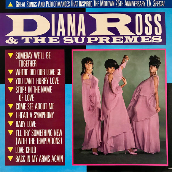 Diana Ross & The Supremes - The Motown 25th Anniversary T.V. Special
