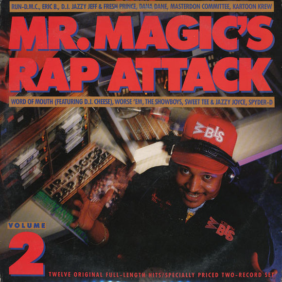 Various Artists - Mr. Magic's Rap Attack Vol 2