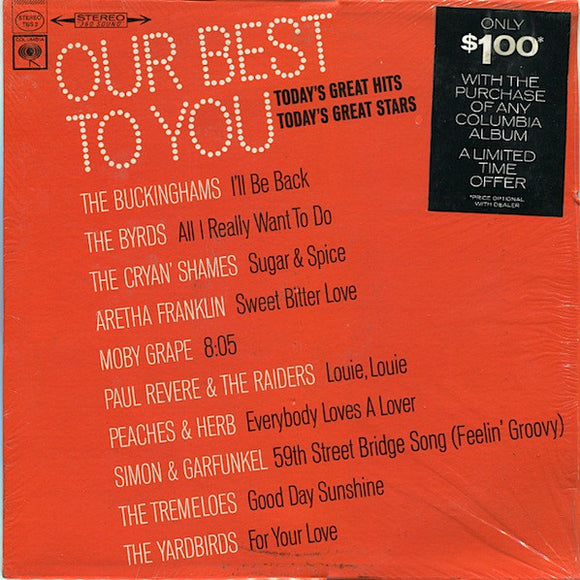 Various - Our Best To You: Today's Great Hits... Today's Great Stars