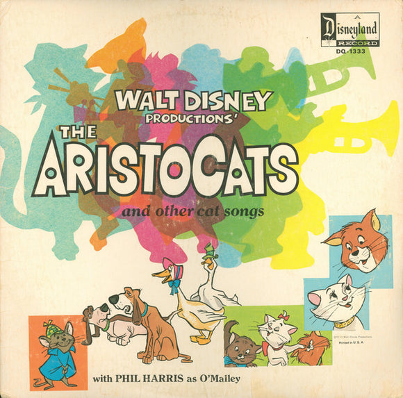 Various - The Aristocats And Other Cat Songs