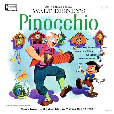 Unknown Artist - Walt Disney's Pinocchio