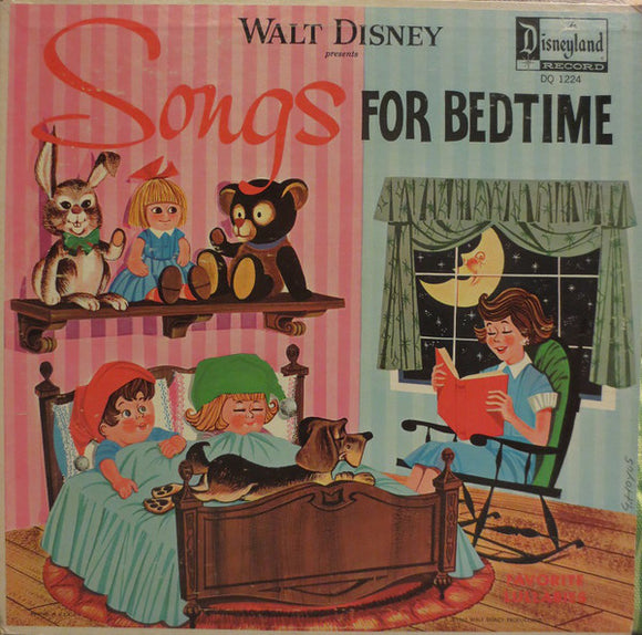 Various - Walt Disney Presents Songs For Bedtime