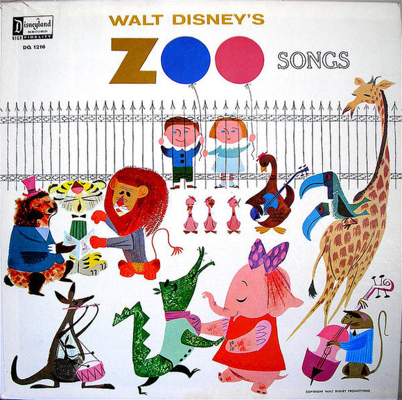 Rica Moore - Walt Disney's Zoo Songs