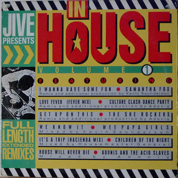 Various - In House Volume 1