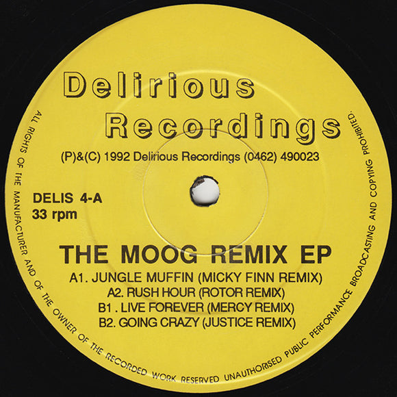 The Moog - The Moog Remix EP