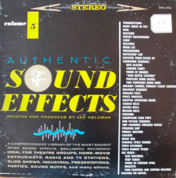 Jac Holzman - Authentic Sound Effects Volume 5