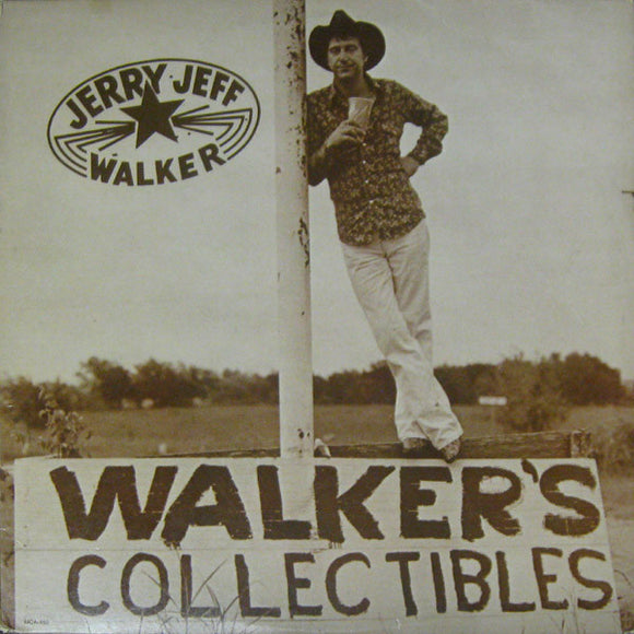 Jerry Jeff Walker - Walker's Collectibles