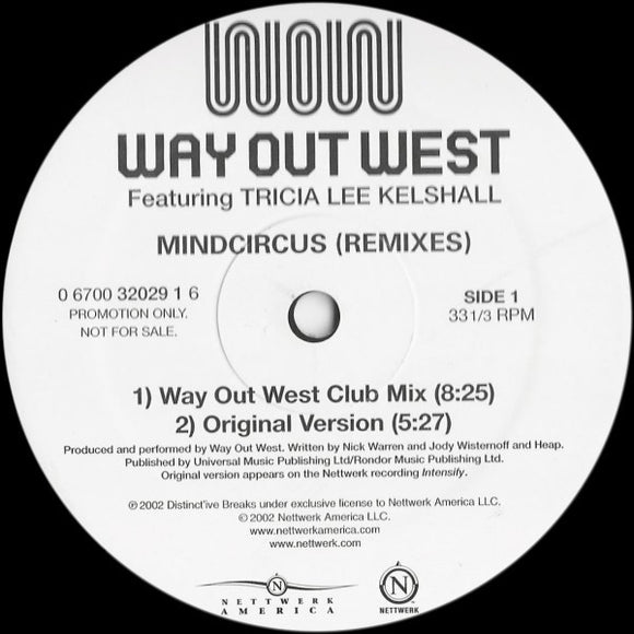 Way Out West - Mindcircus (Remixes)