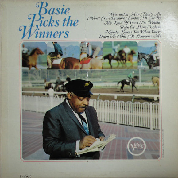 Count Basie Orchestra - Basie Picks The Winners