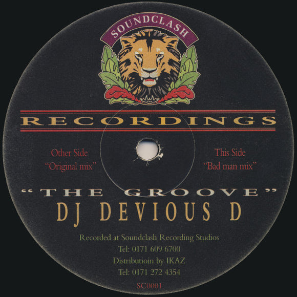 Devious D - The Groove