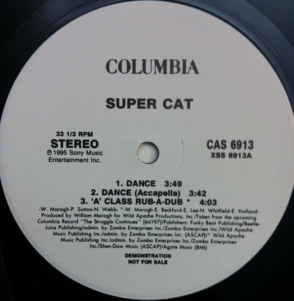 Super Cat - Dance
