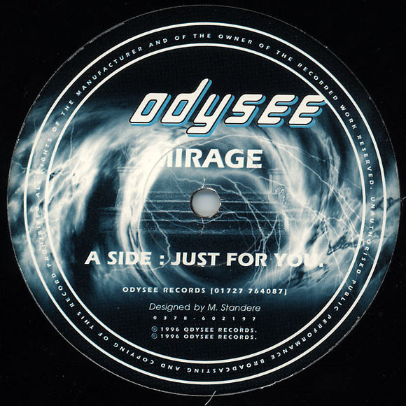 Mirage - Just For You / No Tomorrow