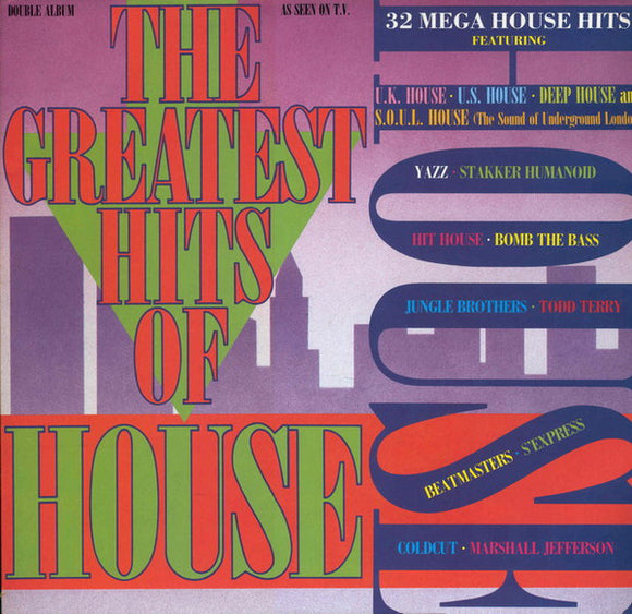 Various - The Greatest Hits Of House
