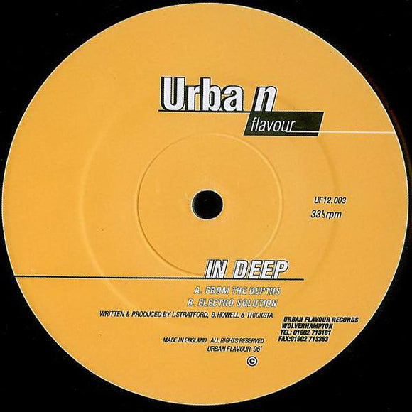 In Deep - From The Depths / Electro Solution