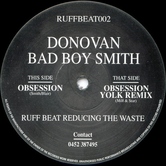Donovan Bad Boy Smith - Obsession