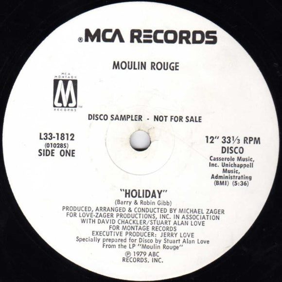 Moulin Rouge - Holiday / Lonely Days