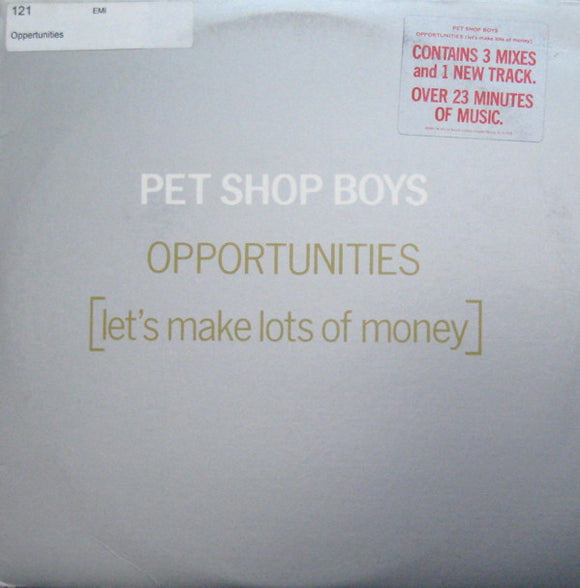 Pet Shop Boys - Opportunities