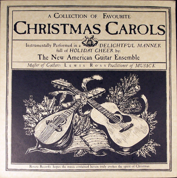 The New American Guitar Ensemble - A Collection Of Favourite Christmas Carols