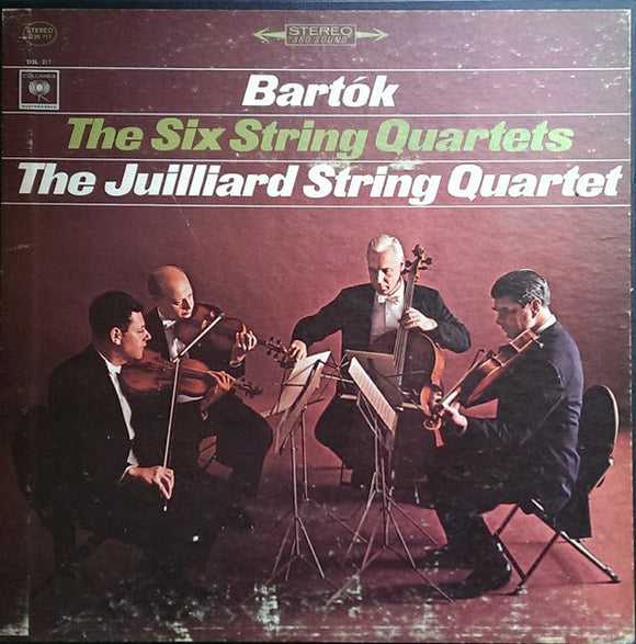 Béla Bartók - The Six String Quartets