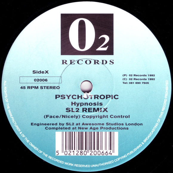 Psychotropic - Hypnosis (Remixes)