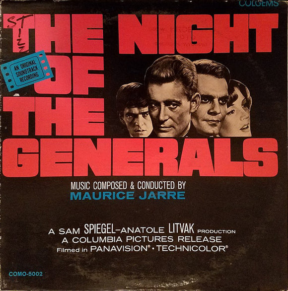 Maurice Jarre - The Night Of The Generals (An Original Soundtrack Recording)