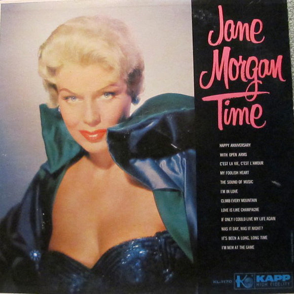 Jane Morgan - Jane Morgan Time
