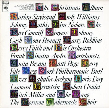 Various - The Christmas Album: 20 Great Christmas Favorites By 20 Great Artists