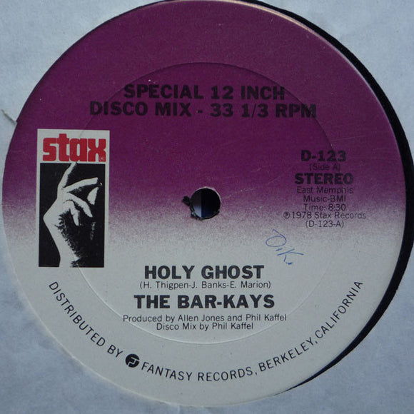 Bar-Kays - Holy Ghost / Monster