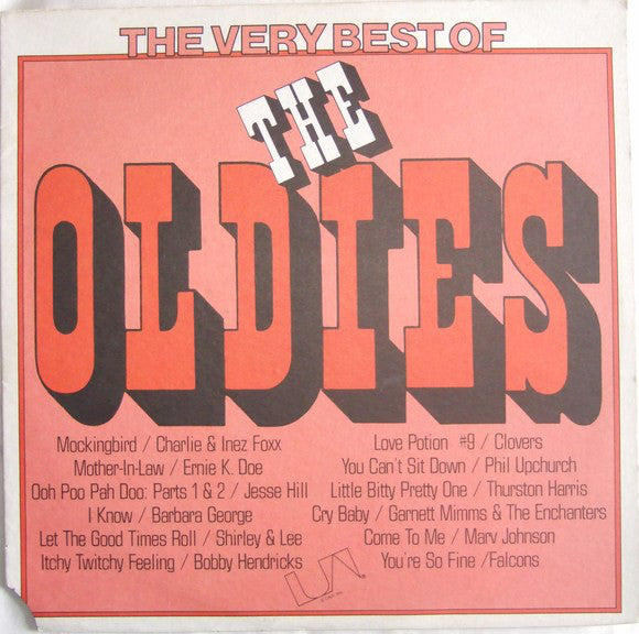 Various - The Very Best Of The Oldies