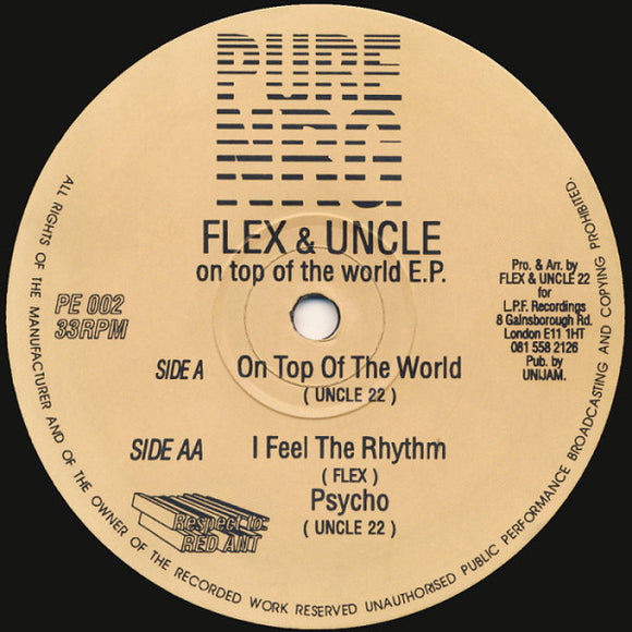 Flex & Uncle - On Top Of The World E.P.