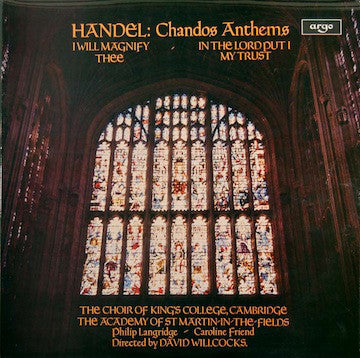 Georg Friedrich Händel - Chandos Anthems