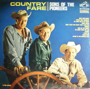 Sons Of The Pioneers - Country Fare