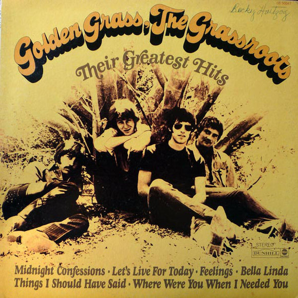 The Grass Roots - Golden Grass: Their Greatest Hits