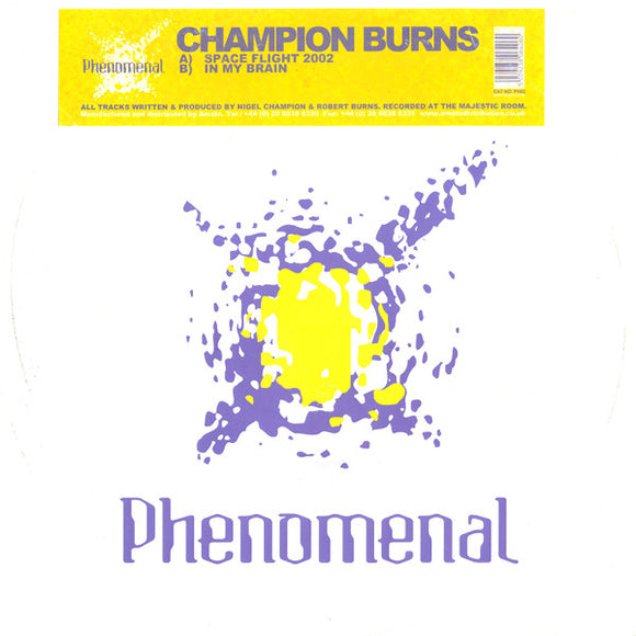 Champion Burns - Space Flight 2002