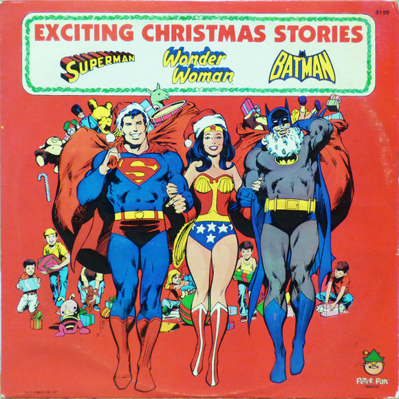 Unknown Artist - Superman / Wonder Woman / Batman - Exciting Christmas Stories