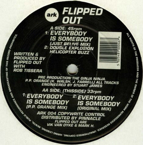 Flipped Out - Everybody Is Somebody