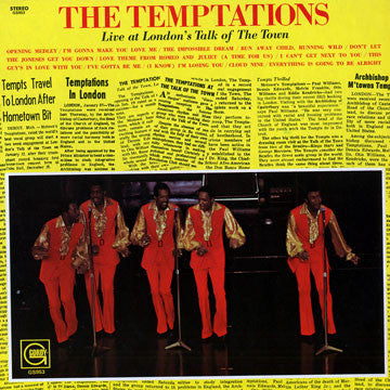 The Temptations - Live At Talk Of The Town